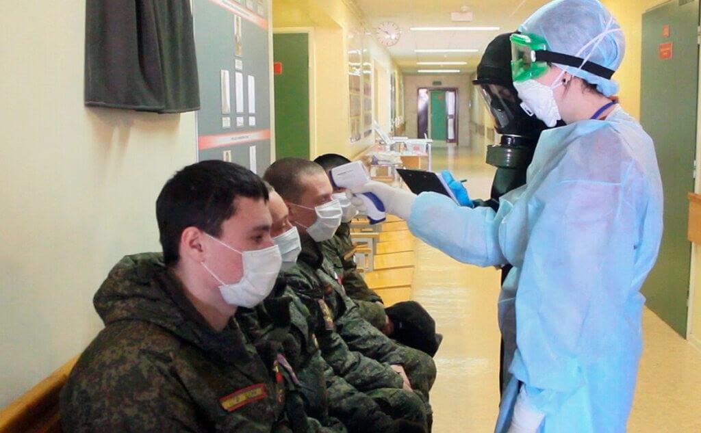 Вакцинация солдат