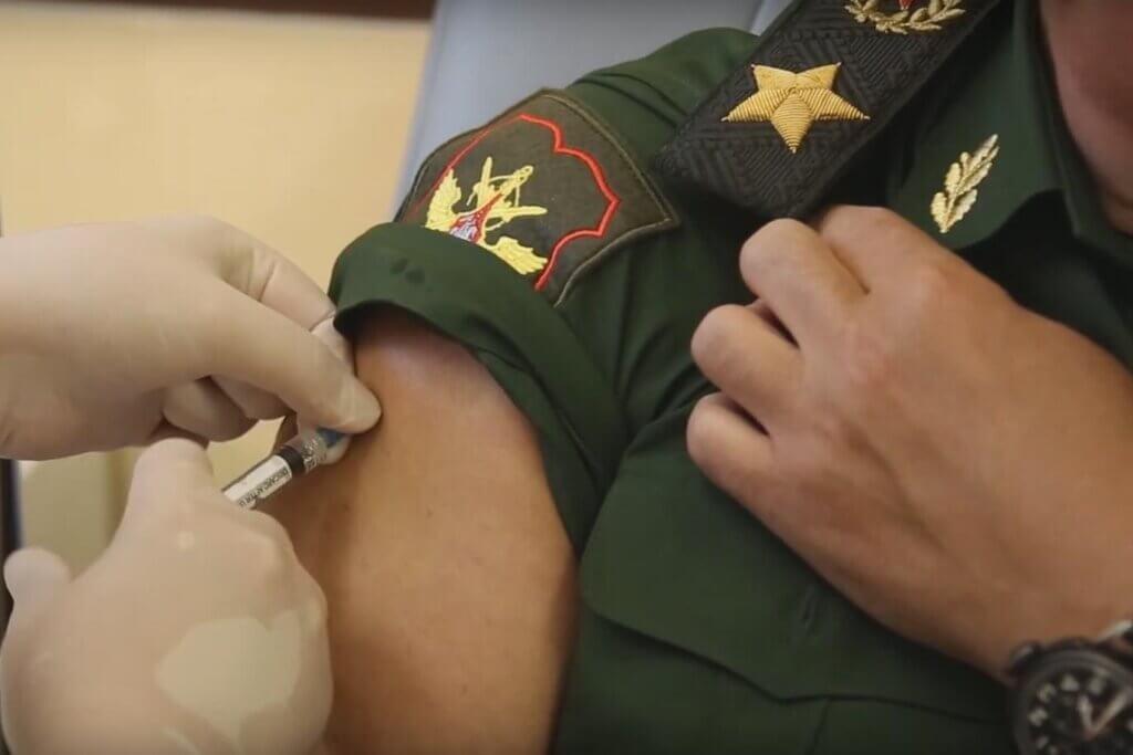 Вакцинация Сергея Шойгу